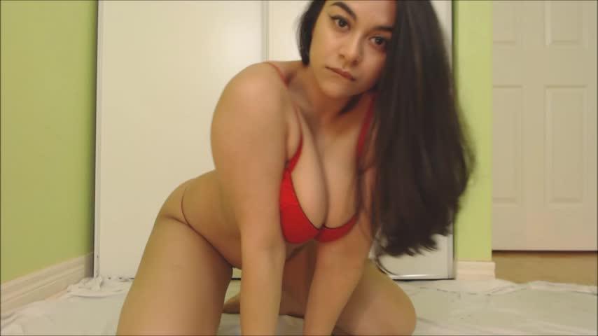 Nice Creamy Dildo Masturbation