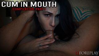 Mouth cum compilation part 1