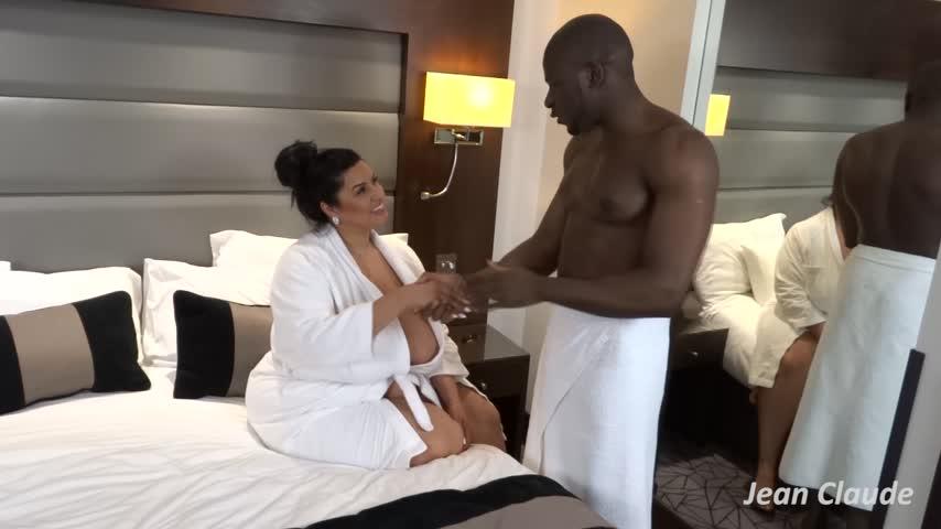 Bbw Interracial Massage
