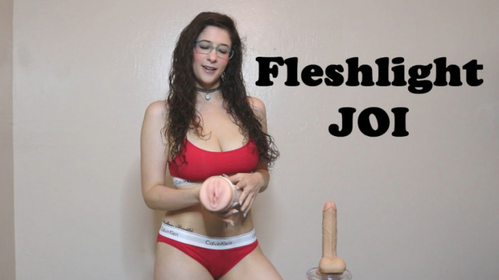 Dildo and fleshlight joi