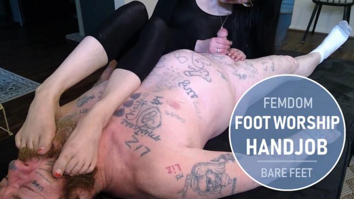 Vintage Lesbian Foot Worship