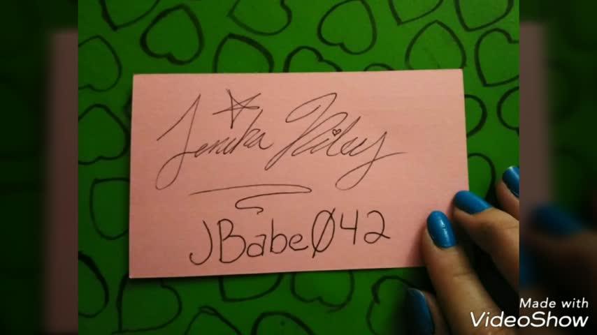 Jbabe042'd vid