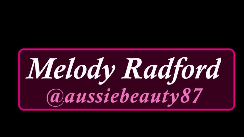 Melody Radford'd vid