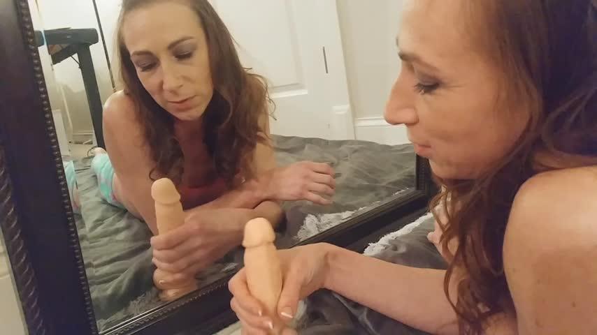 Outdoor Lesbian Dildo Anal