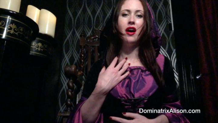 Dominatrix Alison'd vid
