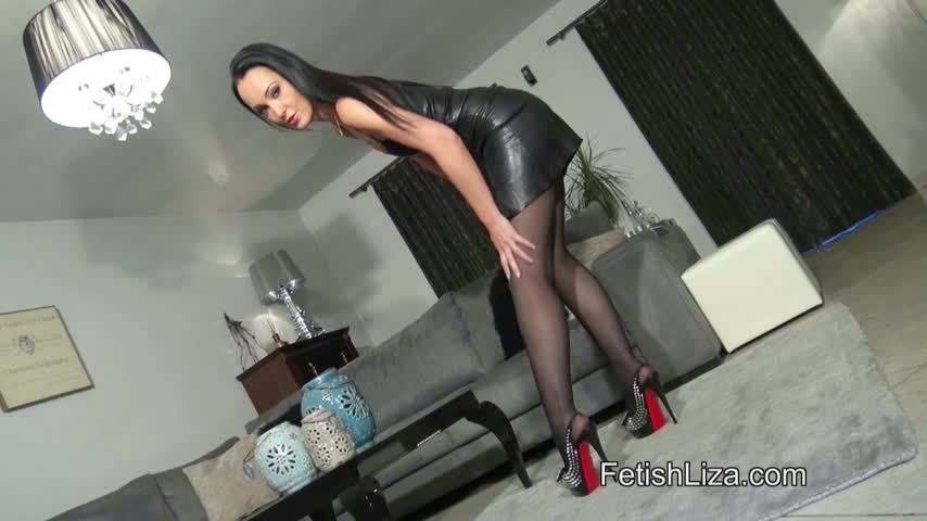 Fetish Liza'd vid