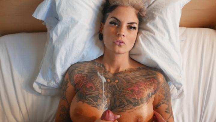 Girls Licking Cum Off Tits