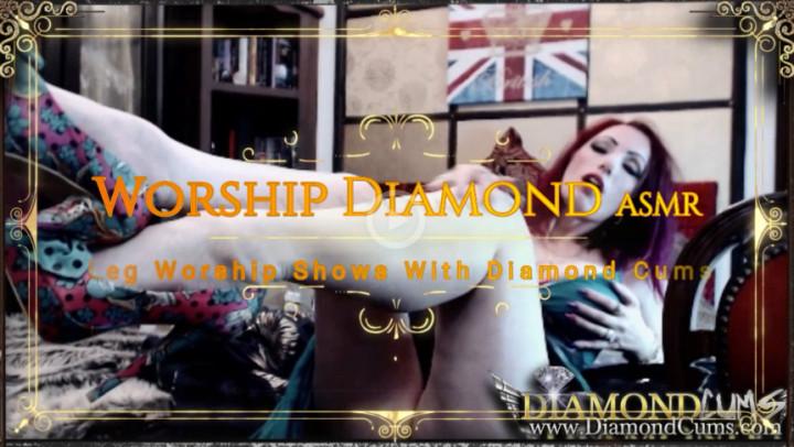DiamondCums'd vid