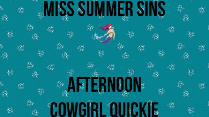 Miss Summer Sins'd vid