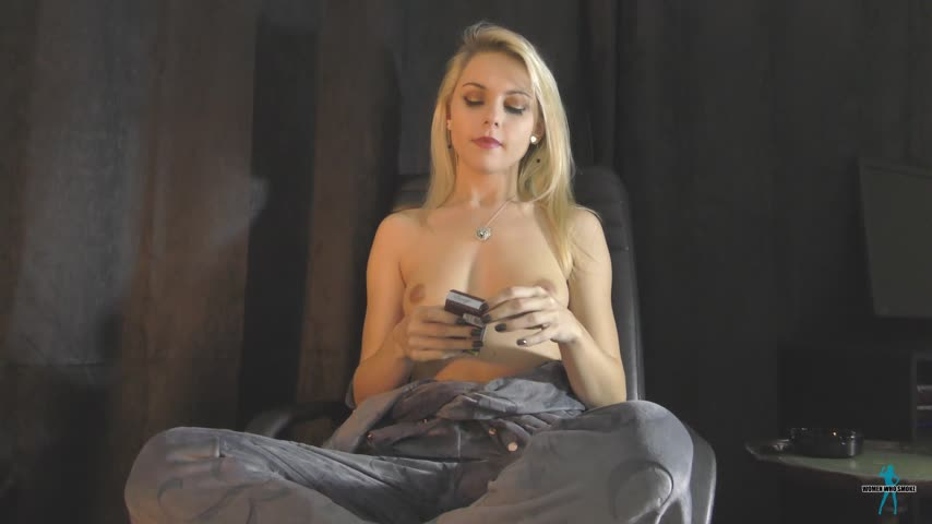 Smoking Teen Gets Fucked