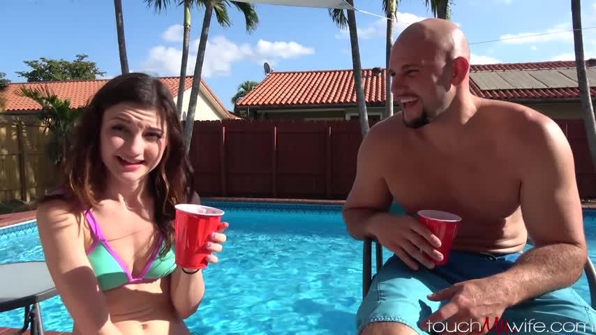 Touchmywife'd vid