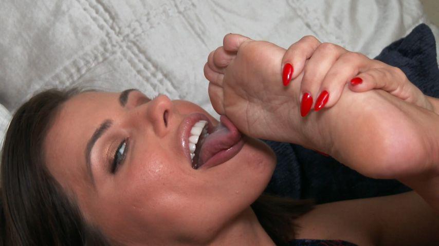 Foot Fetish Handjob Threesome