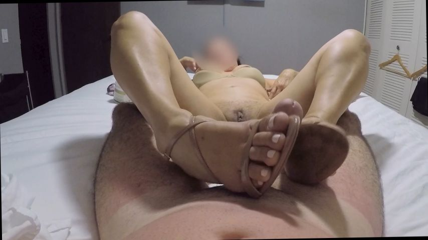 Footjob Disease'd vid