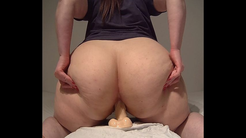 Chinese Big Tits Dildo Riding