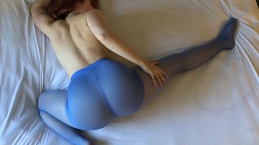 Theme, will leggings blue striptease in fetish think