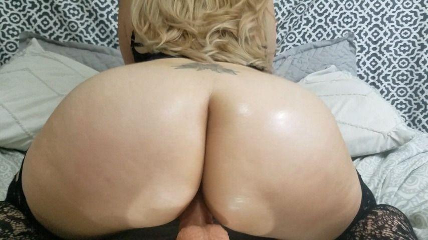 Big Booty Latina Dildo Solo