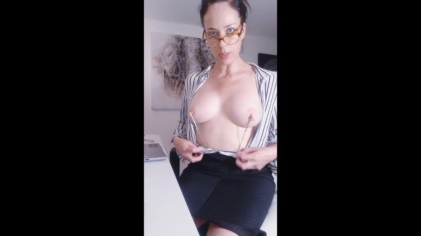 Part 2 Big Tit Strip Tease