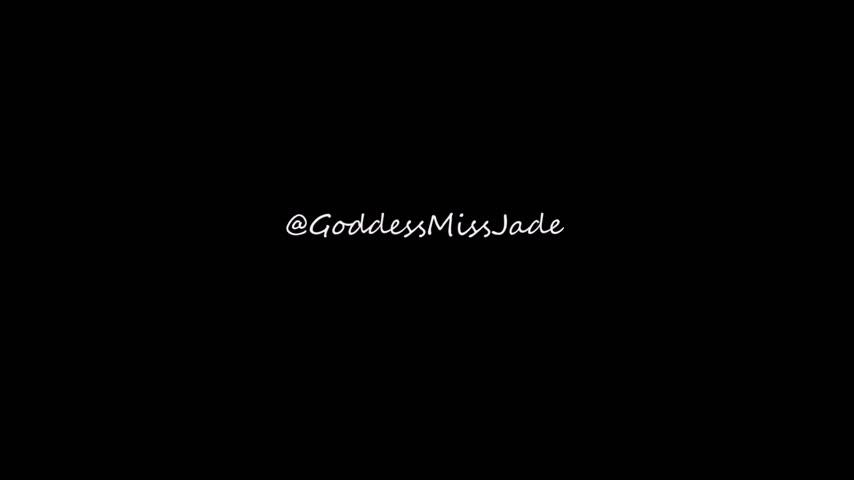 Goddess Miss Jade'd vid