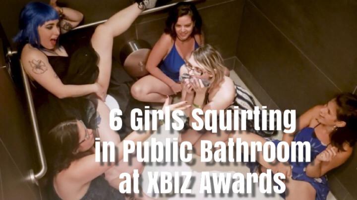 Public Bathroom Solo Squirt