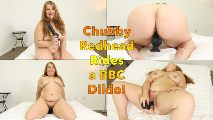 Amateur Riding Huge Dildo