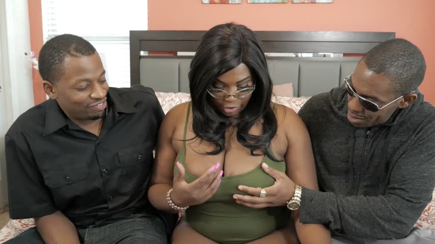 Ebony Bbw Threesome Pov