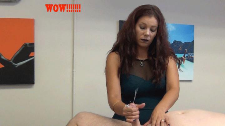 German Girl Gets Massage