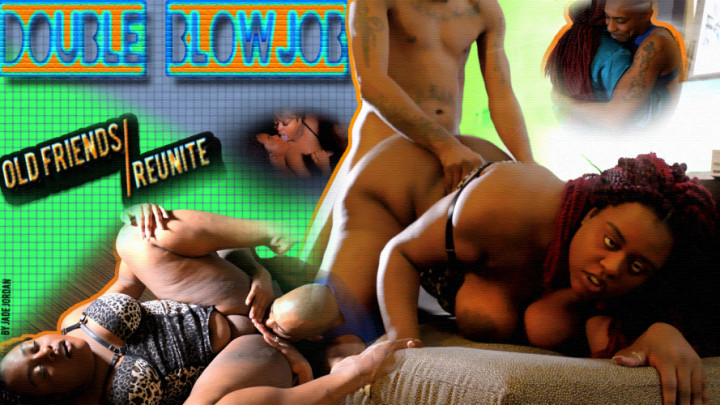 Ebony Thick Ass Threesome